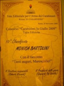 """Concorso """"Carabinieri in Giallo 2009"""""""