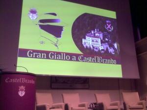 Premiazione Grangiallo a Castelbrando 10 giugno 2010