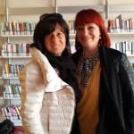Con Alessandra Cenci Campani a Pistoia